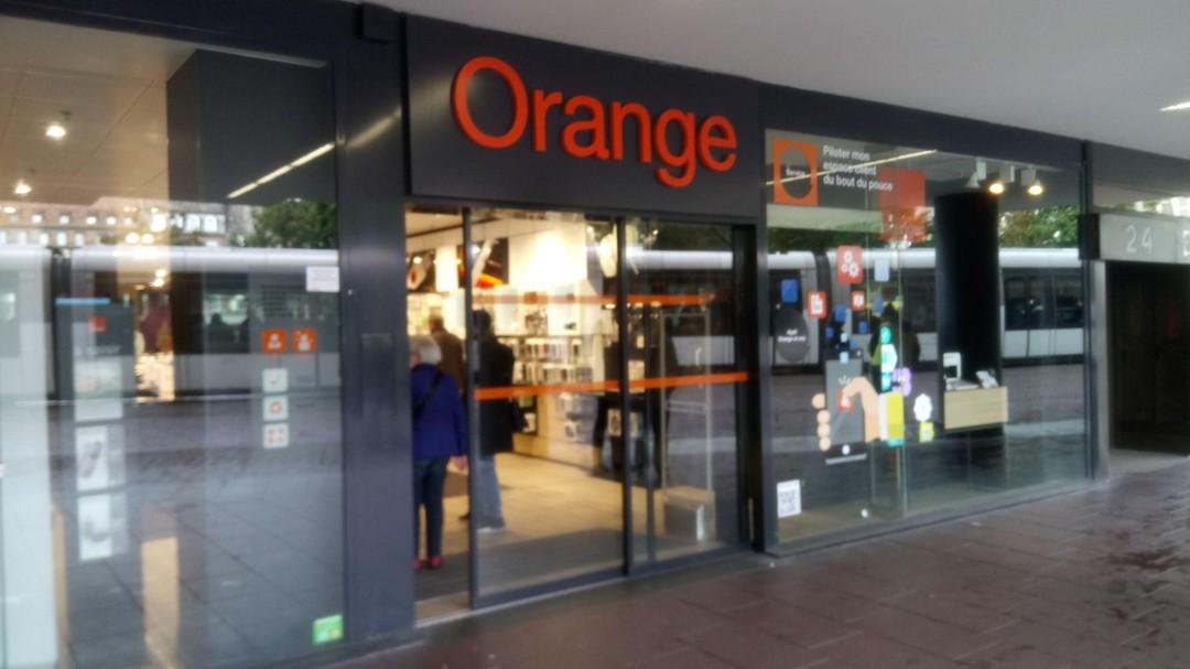 Foto vom 1. Oktober 2017 14:02, Orange, CENTRE COMMERCIAL MAISON ROUGE, 22 PLACE KLEBER, 67000 Strasbourg, Frankreich