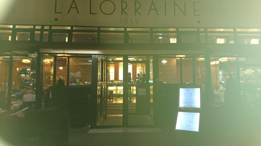 Foto vom 14. November 2017 18:03, Brasserie La Lorraine, 2 Place des Ternes, 75008 Paris, Frankreich