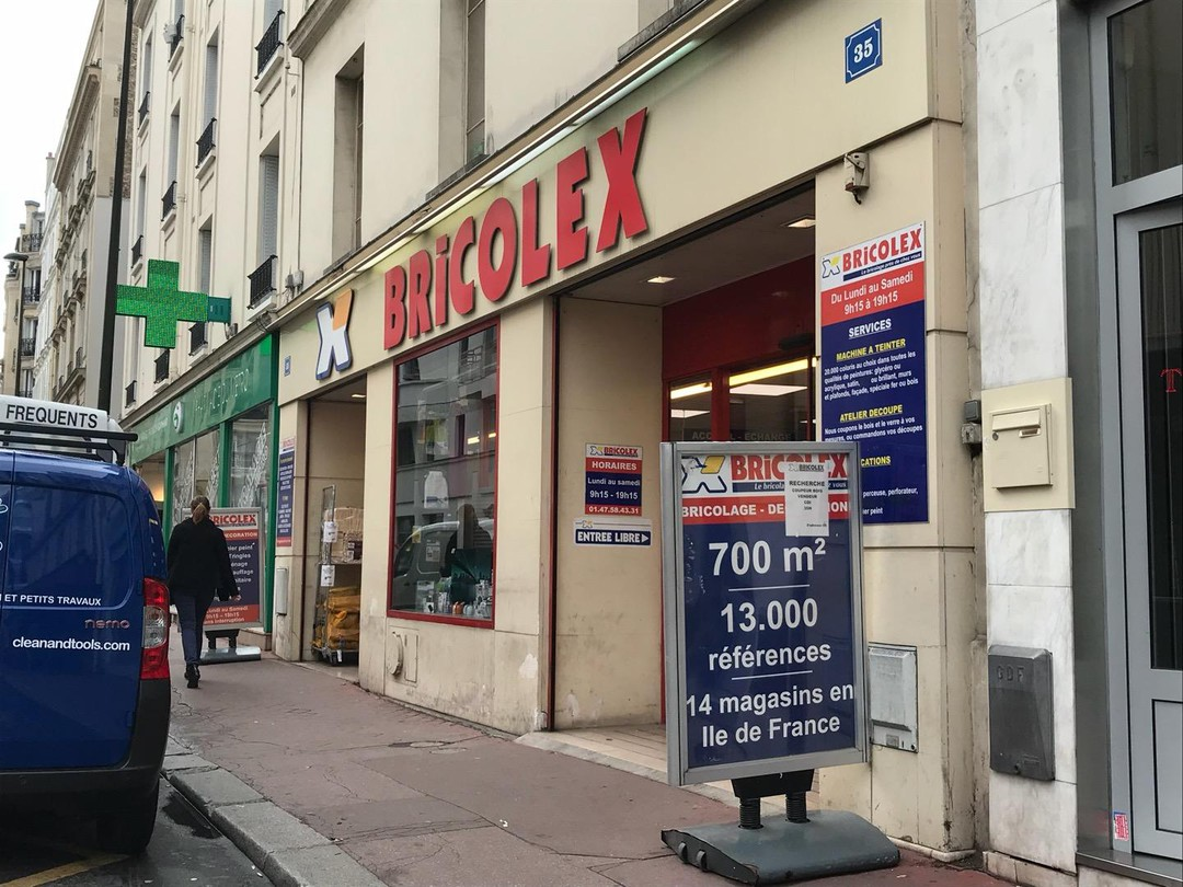 Photo of the October 24, 2017 1:23 PM, Bricolex, 35 Rue Louise Michel, 92300 Levallois-Perret, France