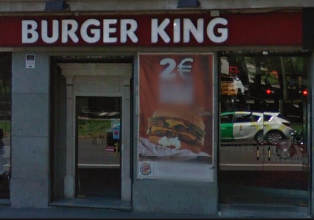 Foto del 5 de febrero de 2016 18:57, Burger King, Paseo del Prado, 26, 28014 Madrid, España