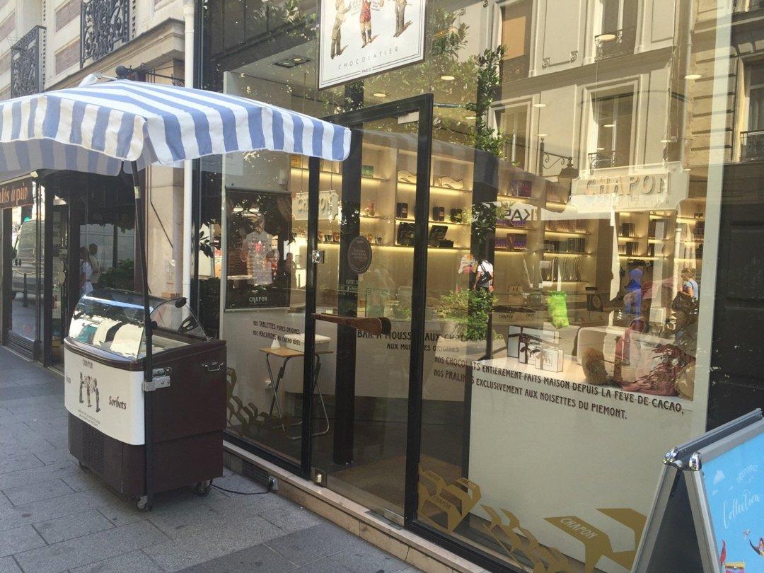 Foto del 26 de agosto de 2016 11:57, Chocolat CHAPON - Boutique de Neuilly, 26 Rue Madeleine Michelis, 92200 Neuilly-sur-Seine, Francia