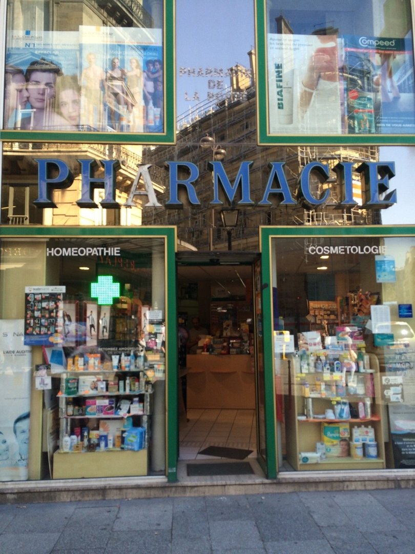 Photo du 26 août 2016 09:19, Pharmacie Aboudaram, 46 Rue Montmartre, 75002 Paris, France