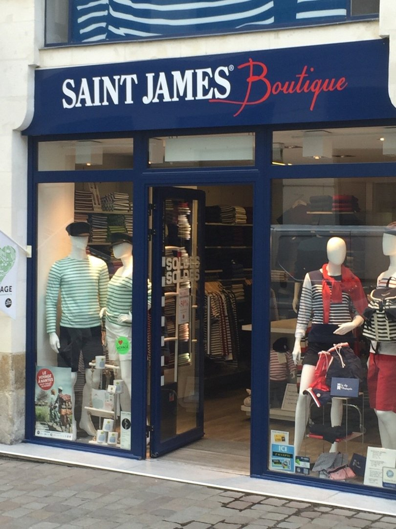 Photo du 20 juillet 2016 08:59, SAINT JAMES BOUTIQUE NANTES, 17 Rue de la Barillerie, 44000 Nantes, France