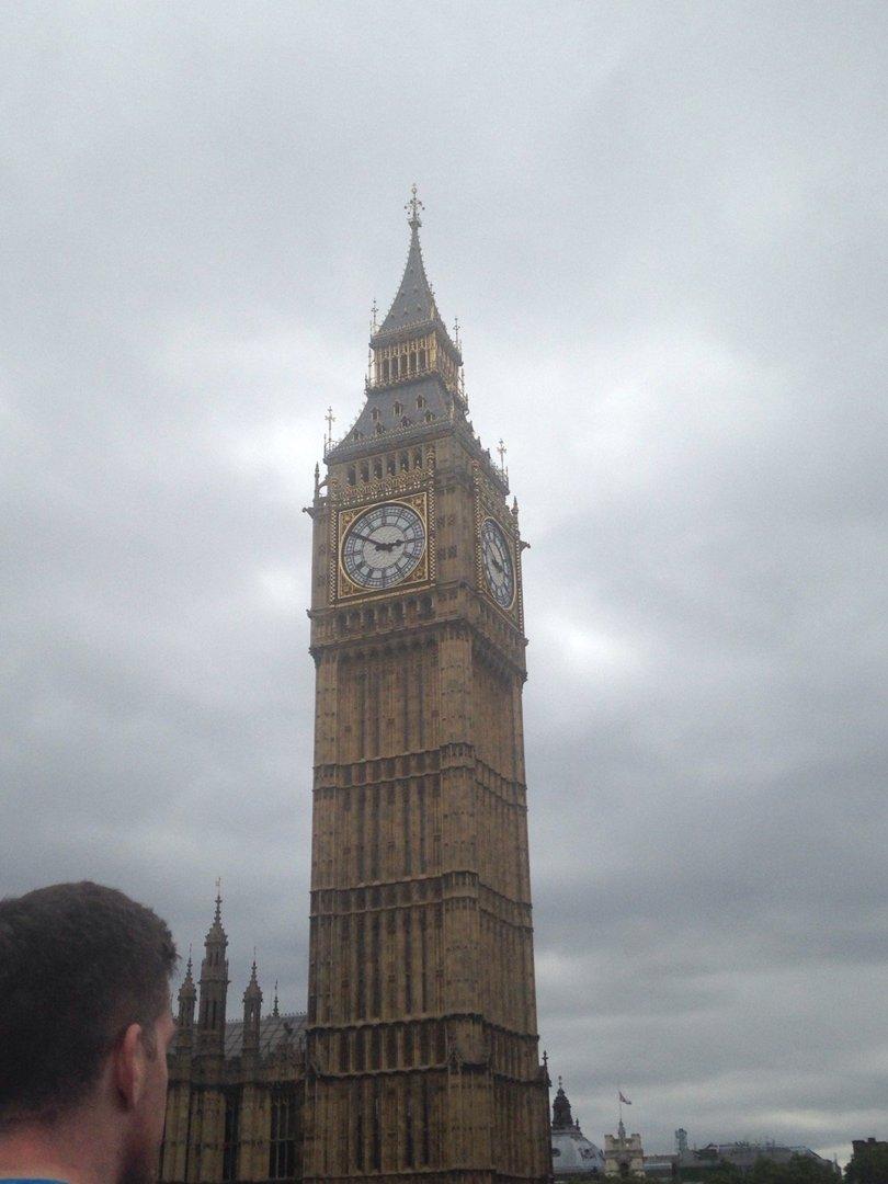 Foto del 12 de septiembre de 2016 17:49, Big Ben, Westminster, Londres SW1A 0AA, Reino Unido