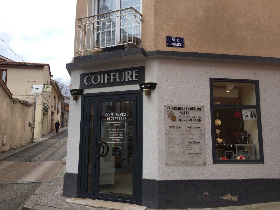 Charmille Coiffure Sainte Foy Les Lyon Accessibilite Detaillee