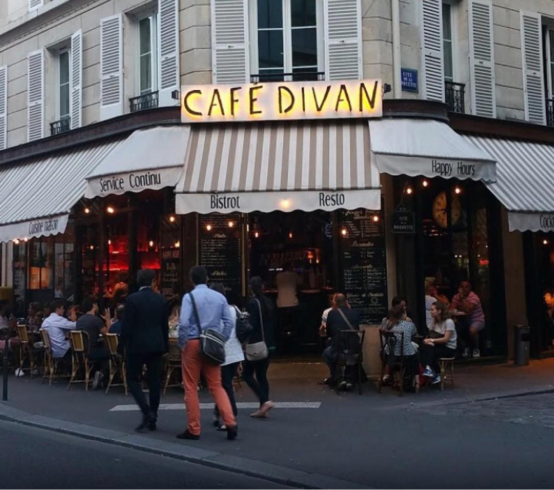 Photo of the November 4, 2017 10:58 AM, Café Divan, 60 Rue de la Roquette, 75011 Paris, France
