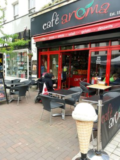 Photo of the May 11, 2018 12:30 PM, Café aroma, 147 High Street, Lytchett Matravers, Poole, Dorset, Royaume-Uni