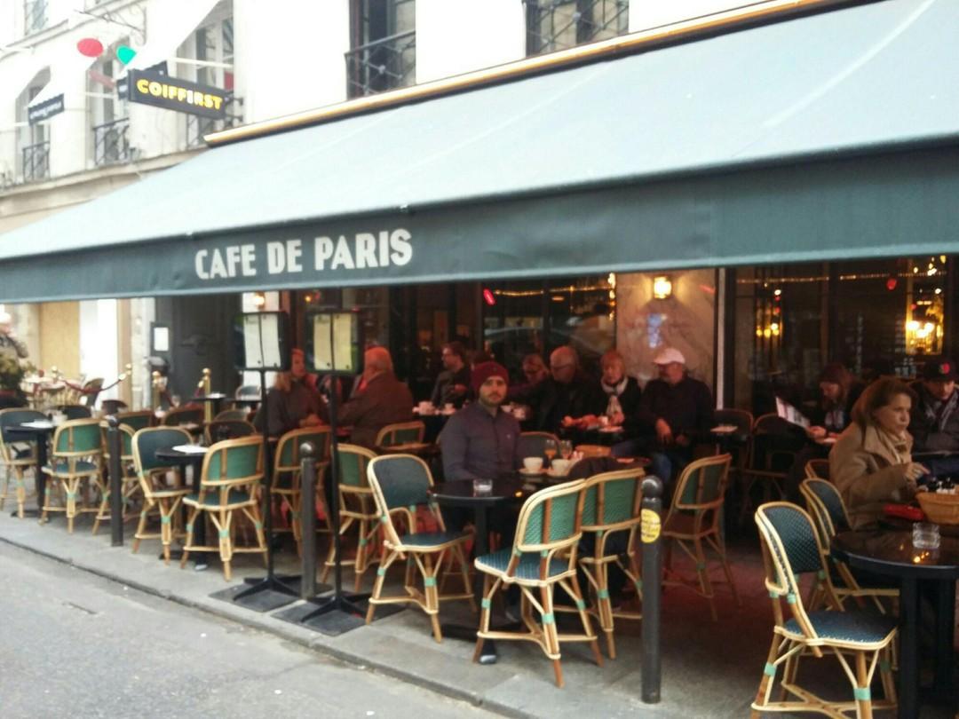 Foto del 4 de noviembre de 2017 9:53, Café de Paris, 10 Rue de Buci, 75006 Paris, France