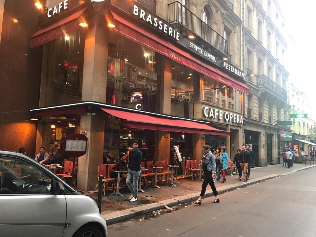 Foto del 6 de junio de 2017 13:34, Café de l'Opéra, 9 Rue de Mogador, 75009 Paris 9e arrondissement, France