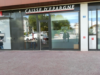 Photo du 9 août 2017 09:35, Caisse d'Epargne Chalon Gare, 7 Rue Charles Baudelaire, 71100 Chalon-sur-Saône, France