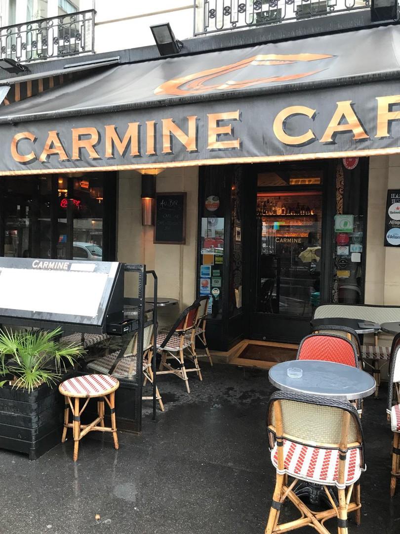 Photo du 13 septembre 2017 12:27, Carmine Café, 73 Avenue de Suffren, 75007 Paris, France