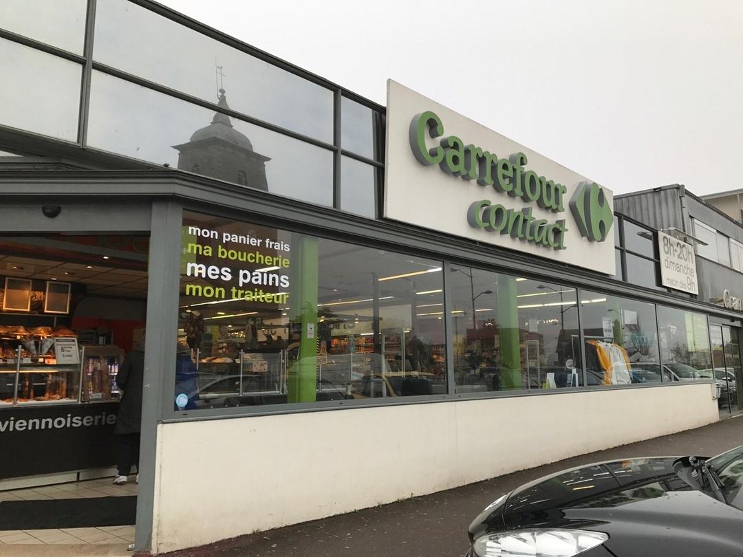 Foto vom 9. März 2017 15:25, Carrefour Contact, Centre commercial Saint Nicolas, 50400 Granville, Frankreich