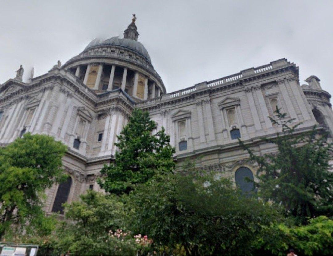 Foto del 2 de diciembre de 2016 9:29, Catedral de San Pablo de Londres, St. Paul's Churchyard, London EC4M 8AD, Reino Unido