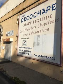 Photo du 14 septembre 2017 07:12, Chape et Facade - Roman Vicedo, 111 Avenue Charles de Gaulle, 84130 Le Pontet, France