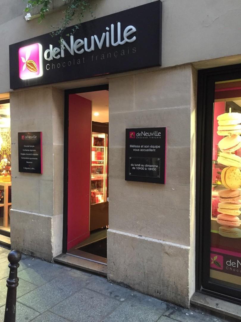 Photo du 28 octobre 2017 16:28, Chocolat De Neuville Paris - Marais, 36 Rue Vieille du Temple, 75004 Paris, France