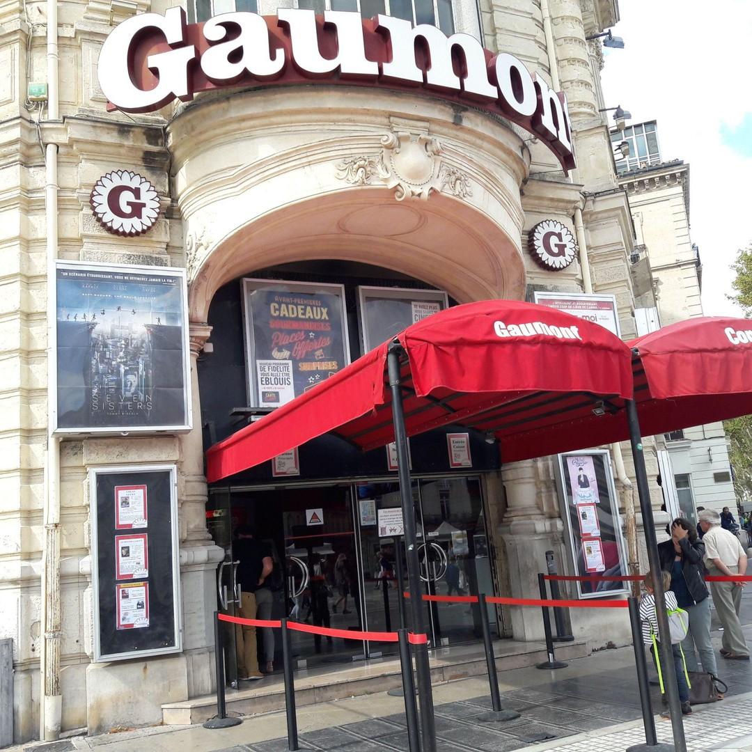 Foto del 16 de septiembre de 2017 18:04, Cinéma Gaumont Comédie, 10 Place de la Comédie, 34000 Montpellier, Francia
