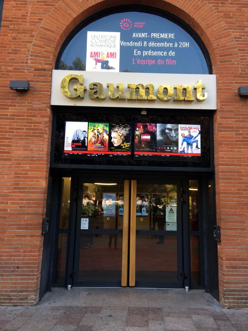 Photo of the November 19, 2017 12:30 PM, Cinéma Gaumont Wilson, 3 Place du Président Thomas Wilson, 31000 Toulouse, France