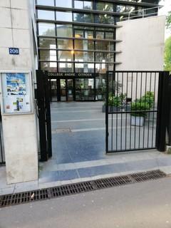 Photo du 4 mai 2018 06:31, Collège André Citroën, 208 Rue Saint-Charles, 75015 Paris, France