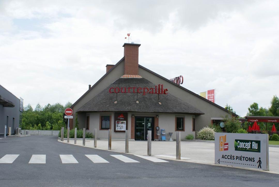 Foto vom 5. Februar 2016 18:56, Courtepaille, Zone Forum Sud, Route de la Rochelle, 79000 Bessines, Frankreich