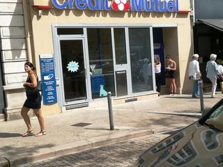Photo du 9 août 2017 13:27, Crédit Mutuel, 22 Place de Beaune, 71100 Chalon-sur-Saône, France