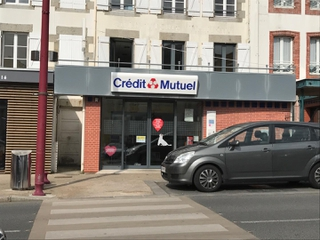 Photo of the May 7, 2017 7:34 PM, Crédit mutuel, 15 Place Charles de Gaulle, Saint-Pair-sur-Mer, France