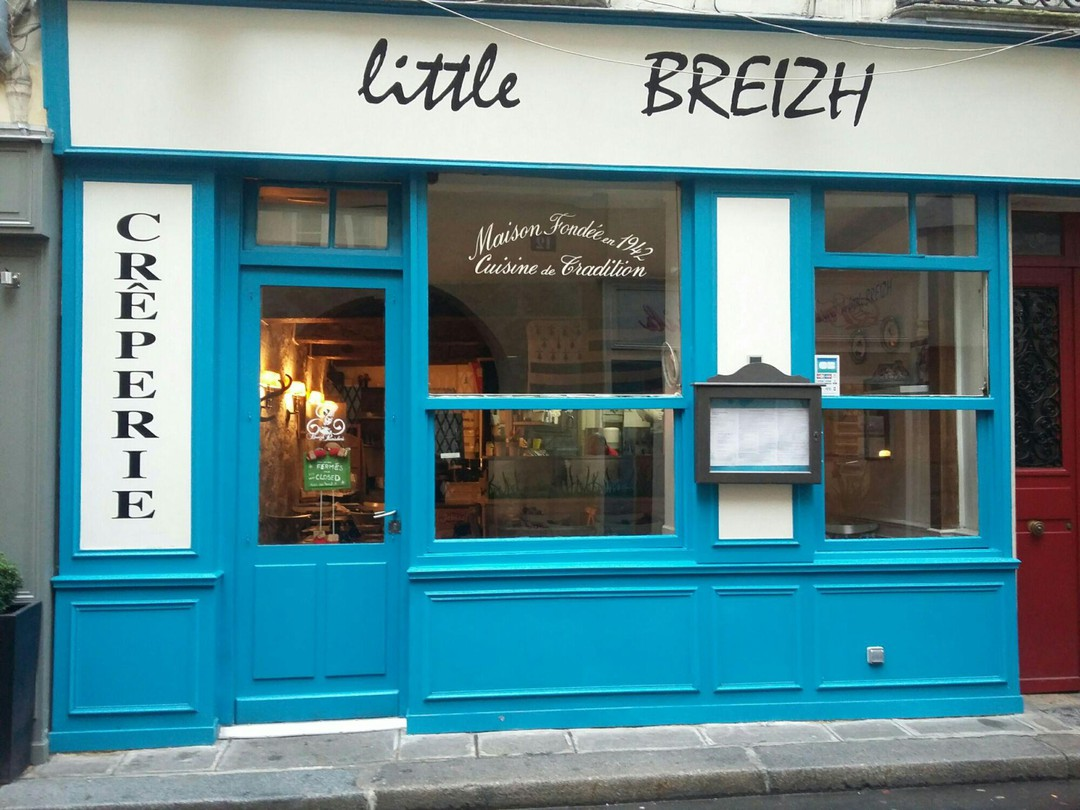 Foto del 4 de noviembre de 2017 9:39, Crêperie Little Breizh, 11 Rue Grégoire de Tours, 75006 Paris, Francia