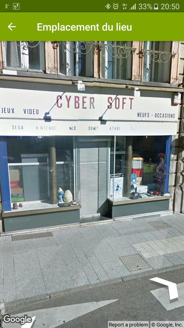 Foto vom 19. November 2017 19:50, Cyber Soft, 48 Rue Henri-Poincaré, 54000 Nancy, Frankreich