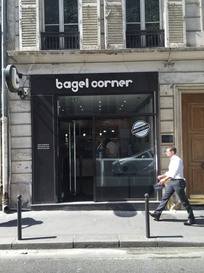 Photo of the August 26, 2016 12:11 PM, Bagel Corner Paris 9 - Godot de Mauroy, 41 Rue Godot de Mauroy, 75009 Paris, France