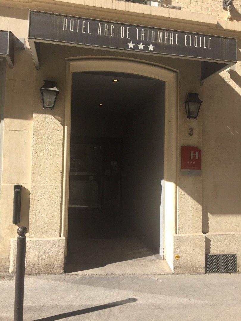 Foto del 26 de agosto de 2016 8:49, Hôtel Arc de Triomphe Etoile, 3 Rue de l'Étoile, 75017 Paris, Francia