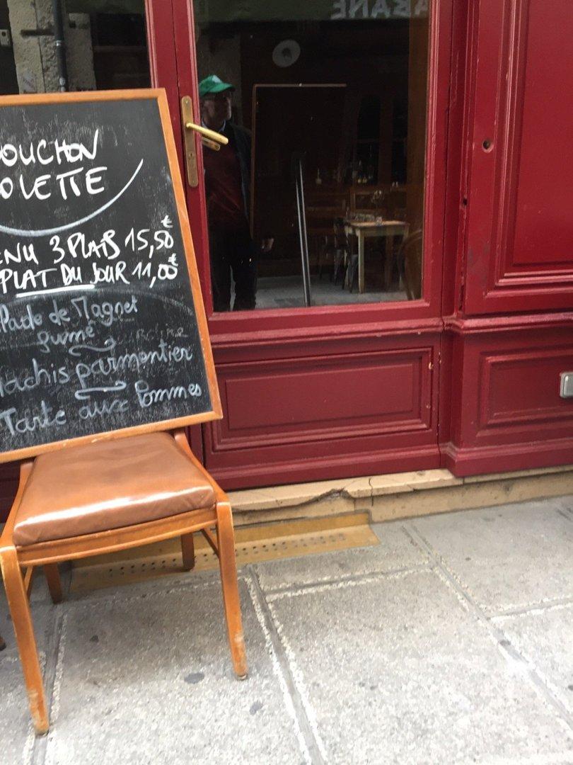 Photo du 6 octobre 2016 13:18, Le Bouchon Colette, 62 Rue Mercière, 69002 Lyon, Frankreich