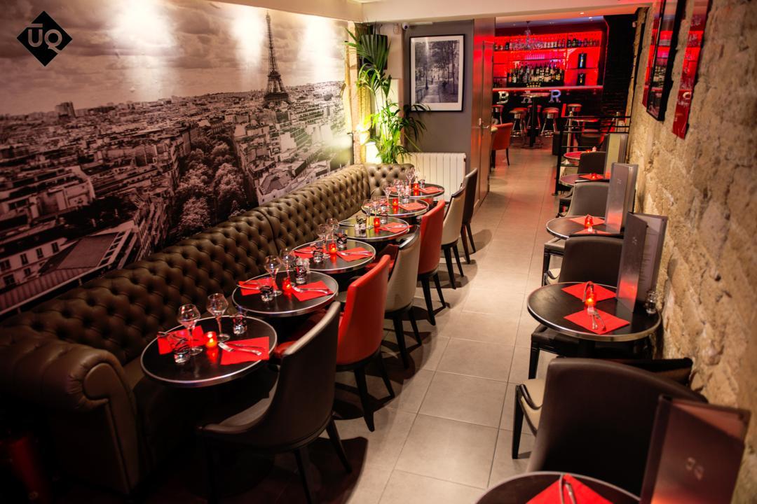 Restaurant - Uniq Lounge , Paris