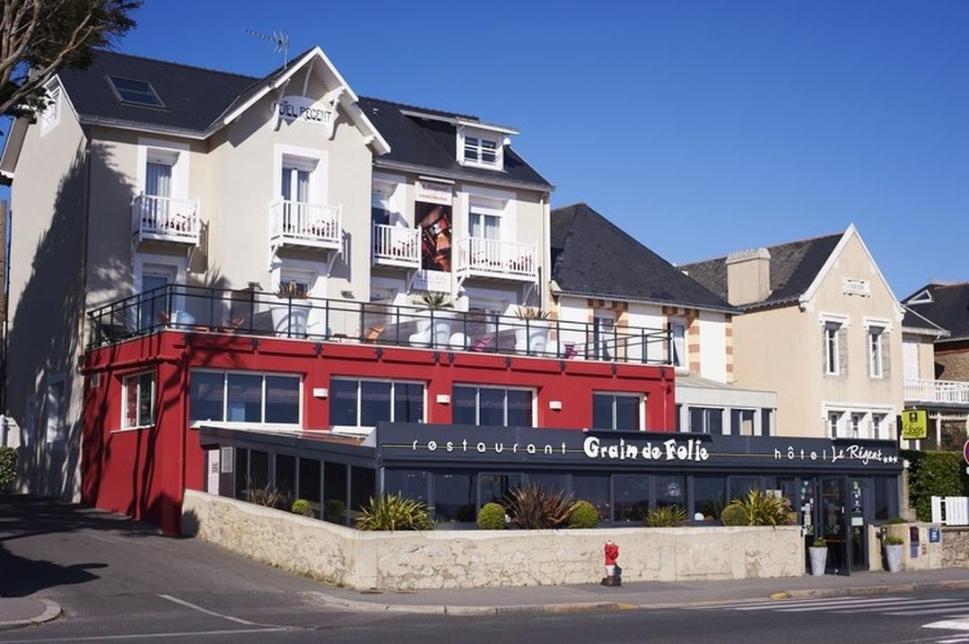 Foto vom 5. Februar 2016 18:55, Hôtel Le Regent et Spa, 150 Boulevard des Océanides, 44380 Pornichet, Frankreich