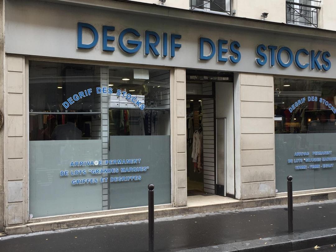 Foto del 6 de junio de 2017 13:50, Dégrif des Stocks, 74 Rue de Provence, 75009 Paris, Francia