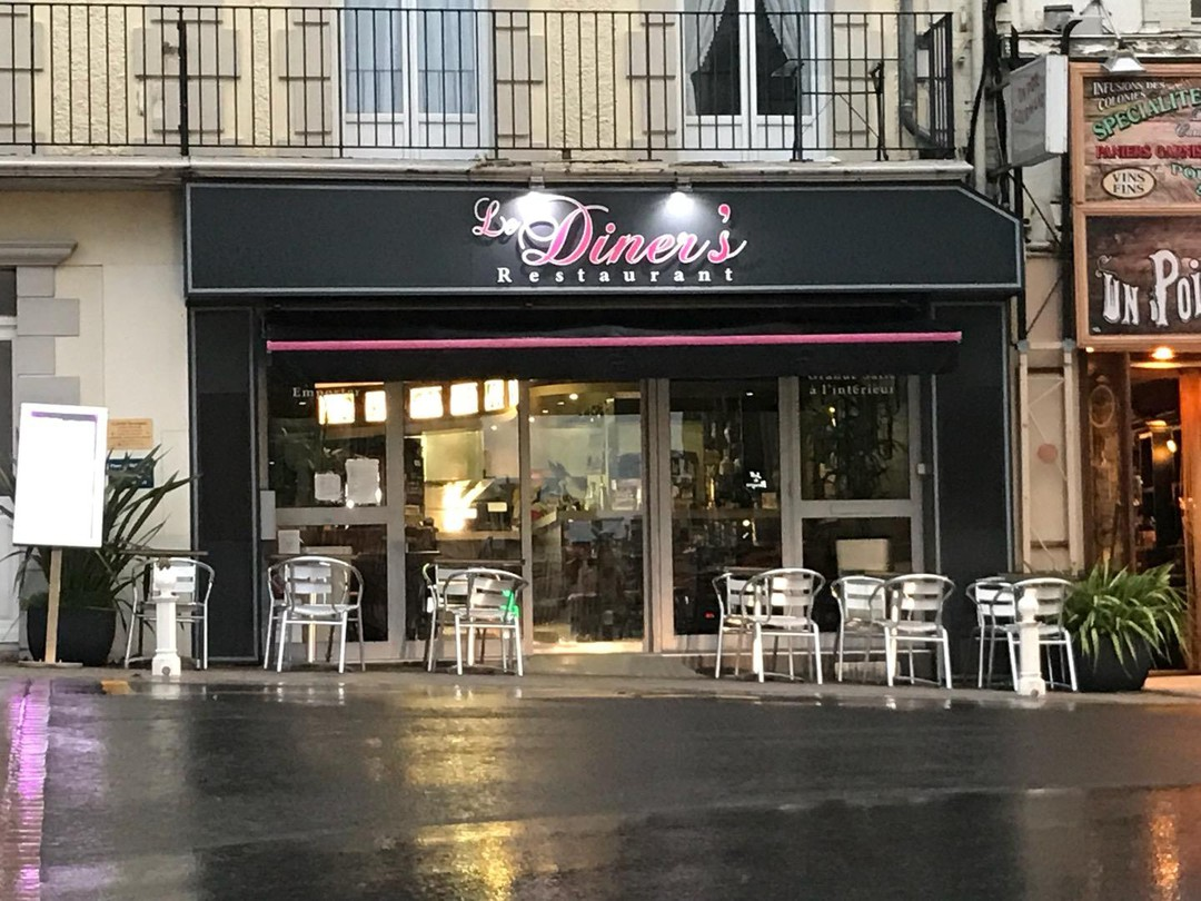 Photo of the October 19, 2017 4:46 PM, Diner's, 1 Rue Georges Clemenceau, 50400 Granville, France