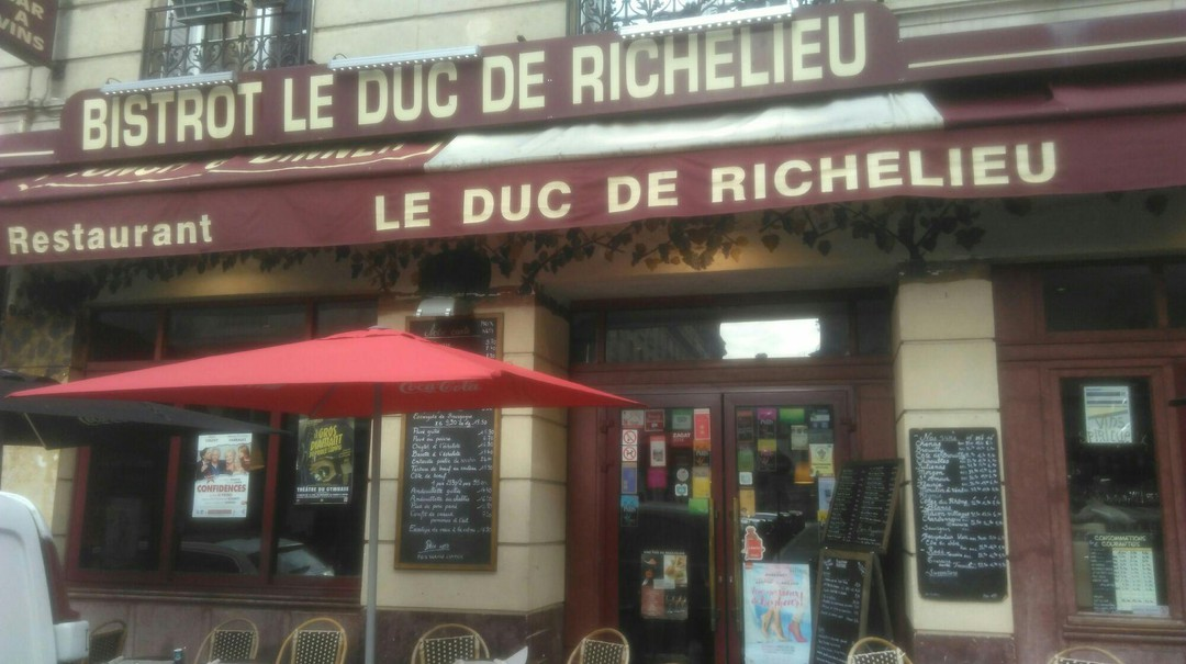 Photo of the November 3, 2017 10:13 AM, Duc de Richelieu, 5 Rue Parrot, 75012 Paris, France