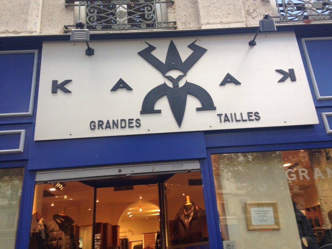 Foto vom 18. Oktober 2016 13:42, Kayak Grandes Tailles, 22 Cours Franklin Roosevelt, 69006 Lyon, Frankreich