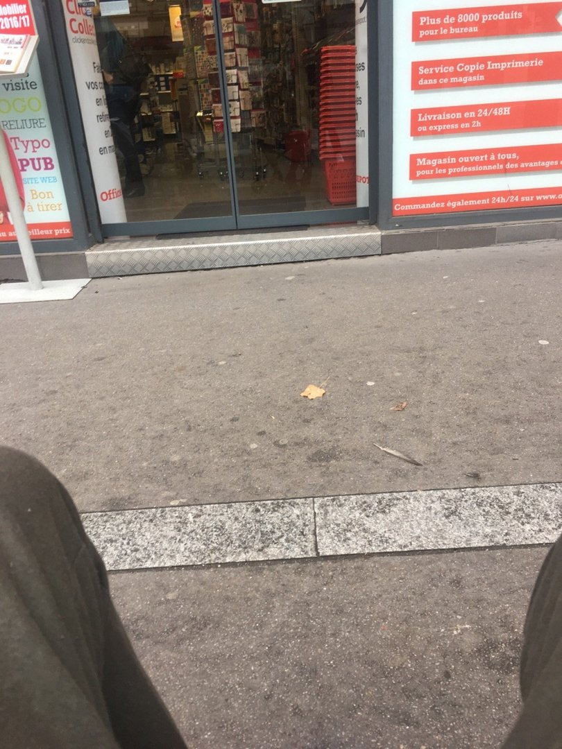 Photo of the October 21, 2016 8:42 AM, Office Depot, 92 Avenue d'Italie, 75013 Paris, France