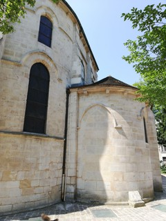 Foto vom 9. Mai 2018 11:16, Church of Saint-Julien-le-Pauvre, 79 Rue Galande, 75005 Paris, France