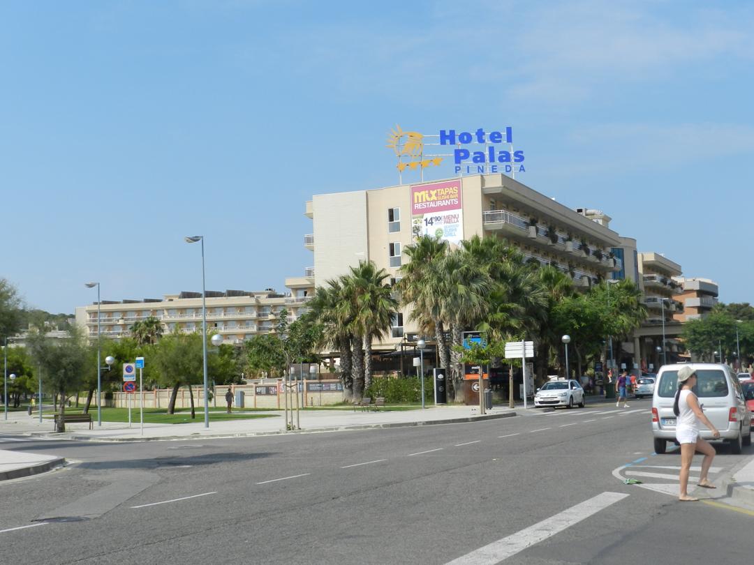 Photo of the February 5, 2016 6:56 PM, Hotel Palas Pineda, 5, Carrer dels Muntanyals, 43481 Platja de la Pineda, Tarragona, Spain
