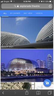 Photo du 14 novembre 2017 13:32, Esplanade - Theatres on the Bay, Singapore, 1 Esplanade Dr, Singapore 038981