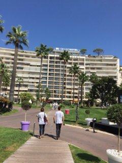 Foto vom 9. September 2016 11:41, Grand Hôtel Cannes, 45 Boulevard de la Croisette, 06400 Cannes, Frankreich