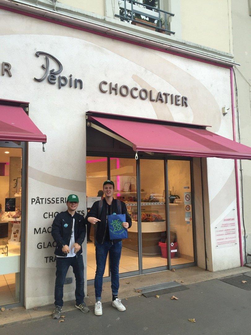 Photo du 18 octobre 2016 13:45, Pâtissier Pepin Chocolatier, 52 Cours Charlemagne, 69002 Lyon, France
