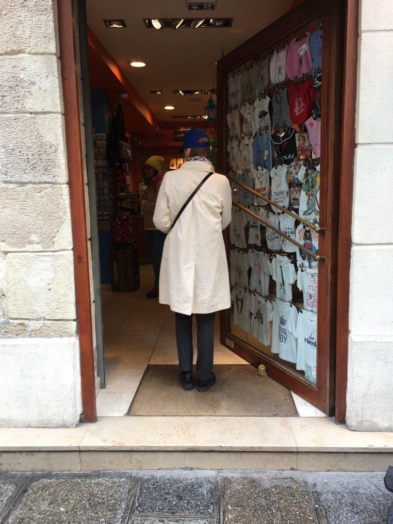 Foto vom 13. Oktober 2016 13:48, Cottin Paris, 53 Rue Saint-André des Arts, 75006 Paris, Frankreich