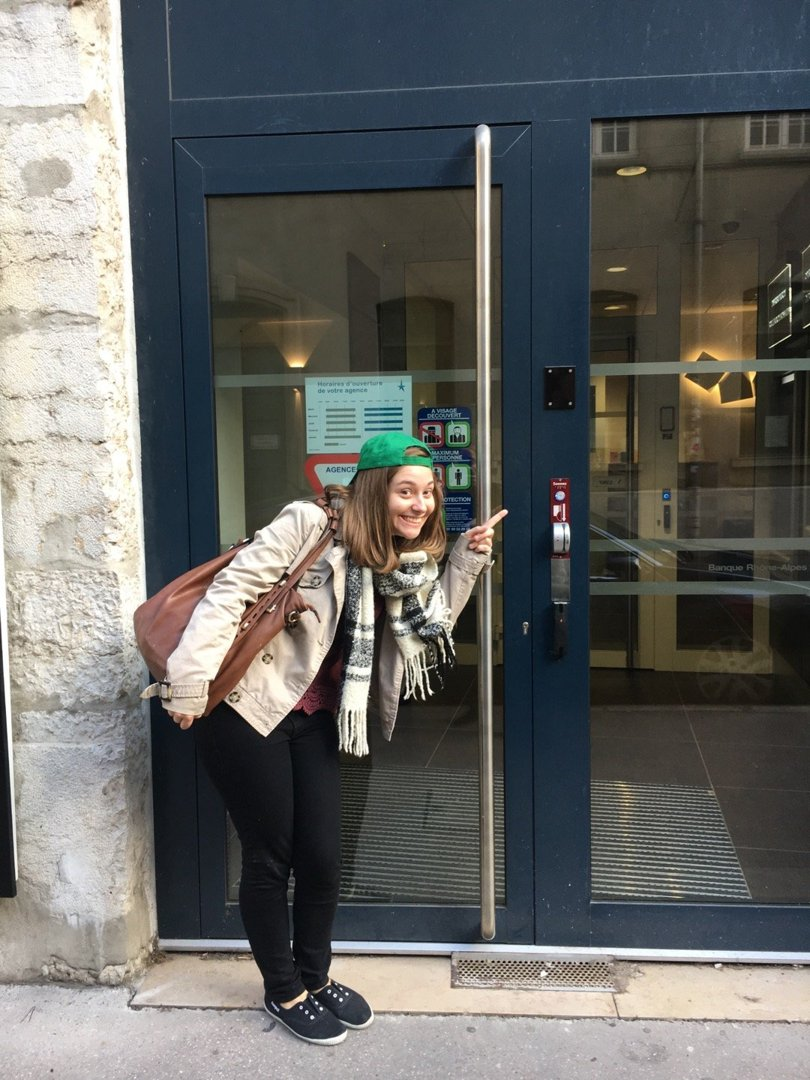 Foto del 18 de octubre de 2016 13:59, Banque Rhône-Alpes - Lyon Bellecour Sainte-Hélène, 15 Rue de la Charité, 69002 Lyon, Francia