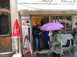 Foto vom 13. September 2017 12:24, Far Niente Paninis, 123 Rue Saint-Dominique, 75007 Paris, France