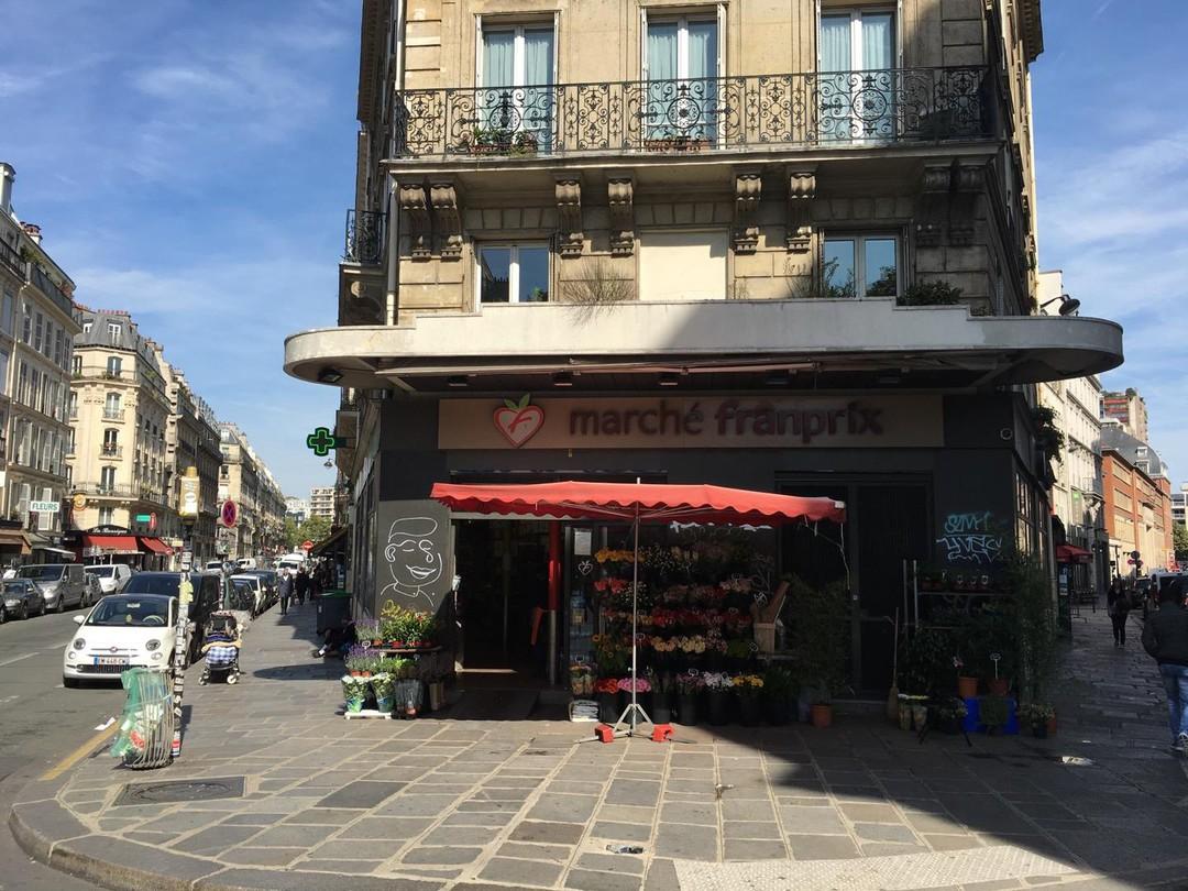 Foto vom 21. September 2017 12:15, Franprix, 2 Rue Beaurepaire, 75010 Paris, Frankreich