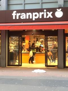 Foto vom 9. Mai 2017 16:51, Franprix, 322 Rue des Pyrénées, 75020 Paris, France
