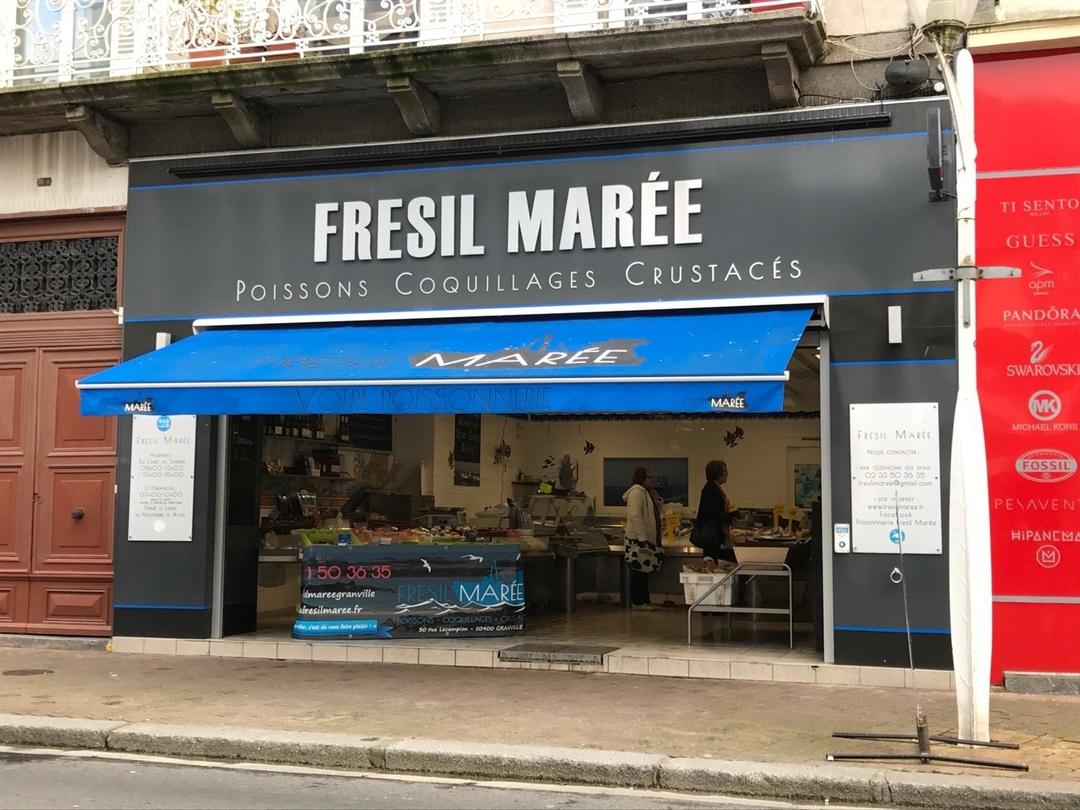Foto del 15 de marzo de 2017 16:20, Fresil Marée, 30 Rue Lecampion, 50400 Granville, Francia