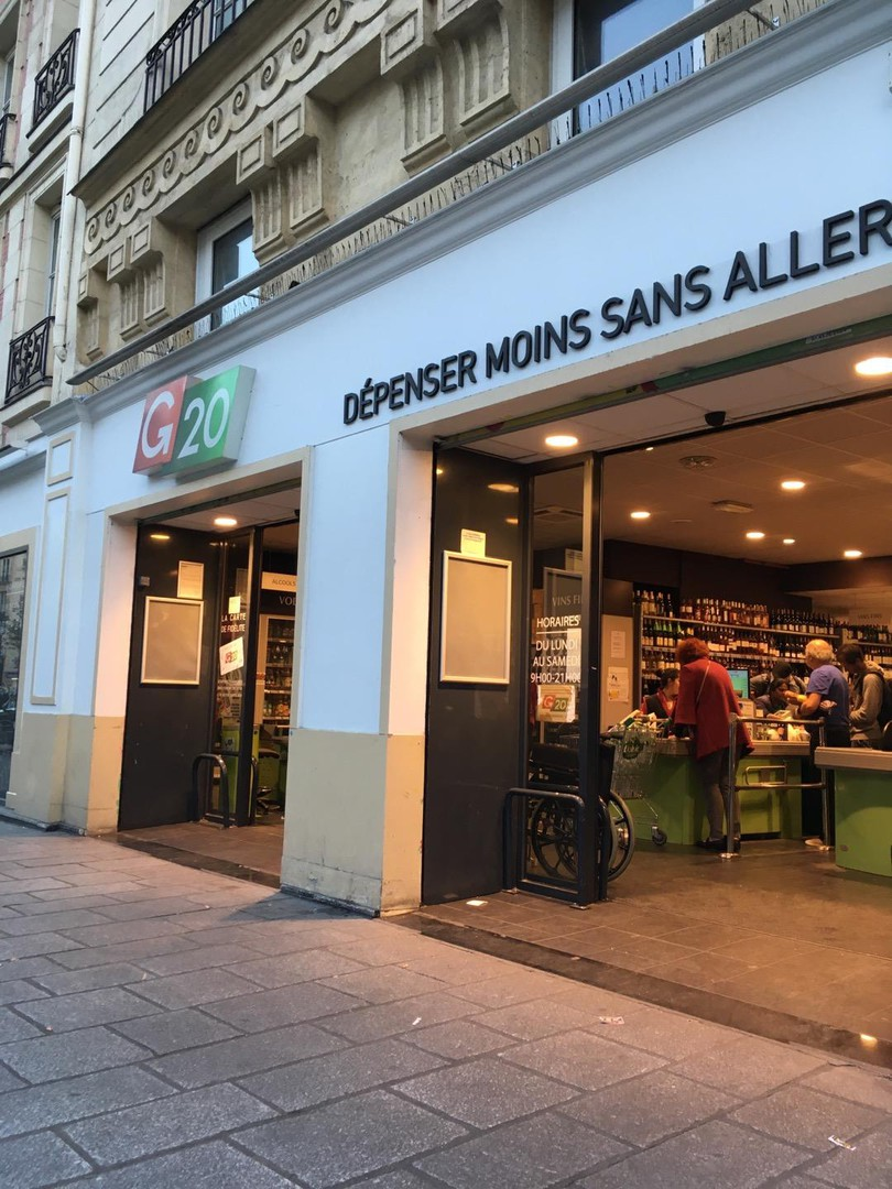 Photo du 16 octobre 2017 16:30, G20, 115-117 Rue Saint-Antoine, 75004 Paris, France