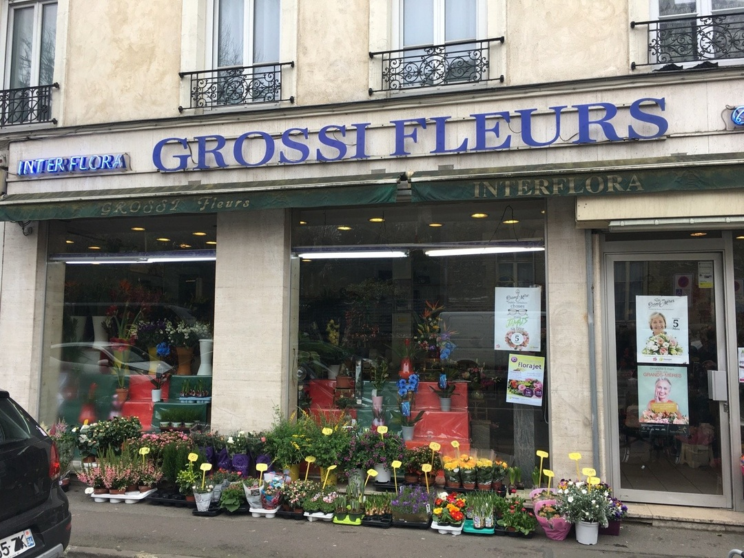 Foto vom 10. März 2017 11:43, GROSSI FLEURS FLORDIRENE, 33 Avenue Paul Vaillant Couturier, 94800 Villejuif, Frankreich